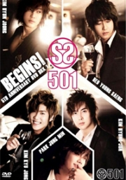 SS501 - BEGINS - The Route to Birth  - 5th Anniversary DVD BOX 1 (4DVD)