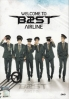 BEAST - The 1st Concert WELCOME TO BEAST AIRLINE (All Region DVD) (Korean Music)